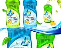 Washing-Up Liquid Packaging