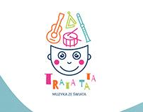 music workshop for kids - logo design