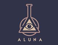 ALUNA cafe logo
