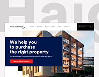 Site concept for Haig Robinson Property Brokers