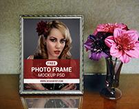 Free Photo Frame Mockup PSD