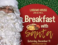 Breakfast With Santa Flyer Templates