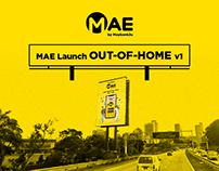 MAE by Maybank2u Launch Campaign OOH