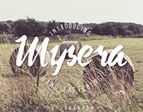 Mysera Typeface