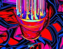 Bucket of Coal Fluo - POP - Wiadro Wegla - Vol II
