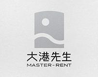 大港先生 Master-Rent 品牌識別