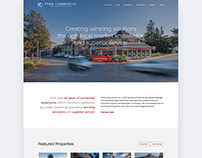 Web Design - Prime Commercial