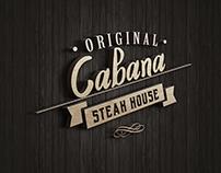 Cabana Steak House / Identity