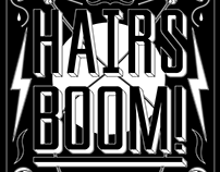 Hairs Boom posters