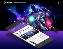 Dotaer app design