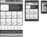 UX: Responsive Wireframing for posts page