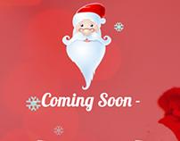 Santago – Coming Soon page