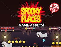 Spooky Places Game Assets