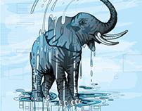 Elephant Water Hole