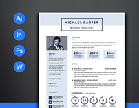 PRO Resume 1 Template