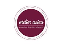 Logotype Atelier Aziza