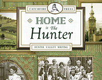 Home is the Hunter (book cover design)