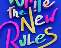 We need to write the new rules