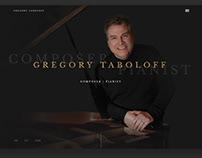 Gregory Taboloff - Art Direction Website