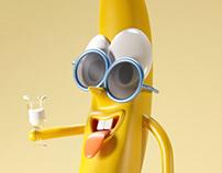 Banana Man - 3D Character Model