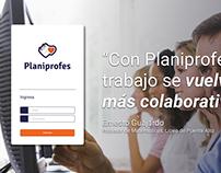 Planiprofes UX/UI
