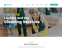 Purified - Cleaning Service HTML Template