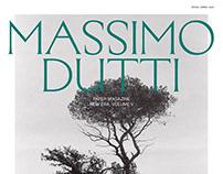 MASSIMO DUTTI PAPER MAGAZINE V | EDITORIAL