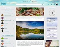 Infea website design