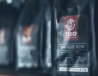 Tamp Coffee Co. Brand Identity