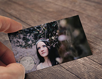 NICHOLE PHOTOGRAPHY BUSINESS CARD