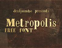Metropolis – Free Font