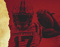 Iowa State Football Liberty Bowl Motion Graphic Package