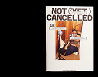 Weltformat Magazine 20 — Not (Yet) Cancelled