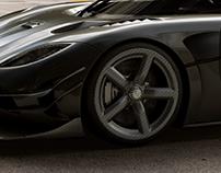 Koenigsegg One Wheel | CGI