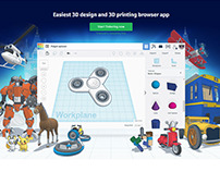 Tinkercad website design