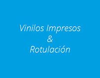 Vinilos de corte & Rotulación