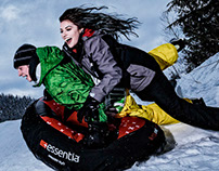 Essentia Water Winter 2017 Instagram Campaign
