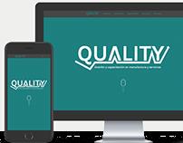 Quality.com.ar - Diseño & Maquetación web