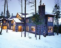 Copywriting & Design •Log Cabin Homes Floorplan Guide
