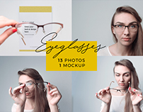Eyeglasses Magic Bundle: 13 photos + 1 mockup
