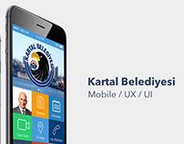Kartal Belediyesi - iOS App Concept
