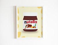 Nutella Illustration
