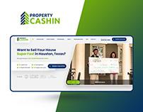 Property Cashin — Real Estate Investor Website Design