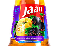 Fruit and berry drinks «JAAN»