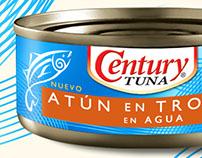 Century Tuna Export Labels