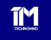 Technomind Logo   Logo for IT Company