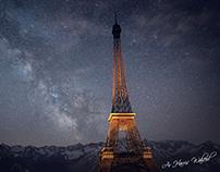 Eiffel Tower (3D Visualization)