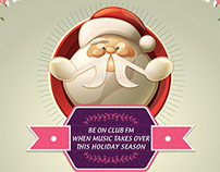 Club FM Christmas Campaign