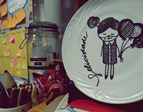 porcelanas ilustradas