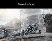 Mercedes-Benz Powertrain - Editorial Design